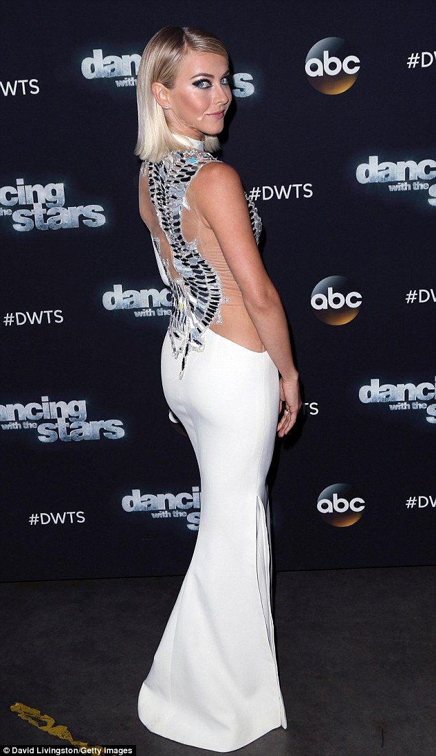 Julianne Hough dazzles on Dancing with the Stars in white ...