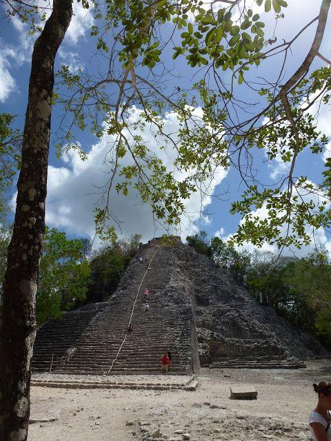 Love, Carrie : Mexiko - Ein Land das man gesehen haben muss. Der Maya Tempel in Coba