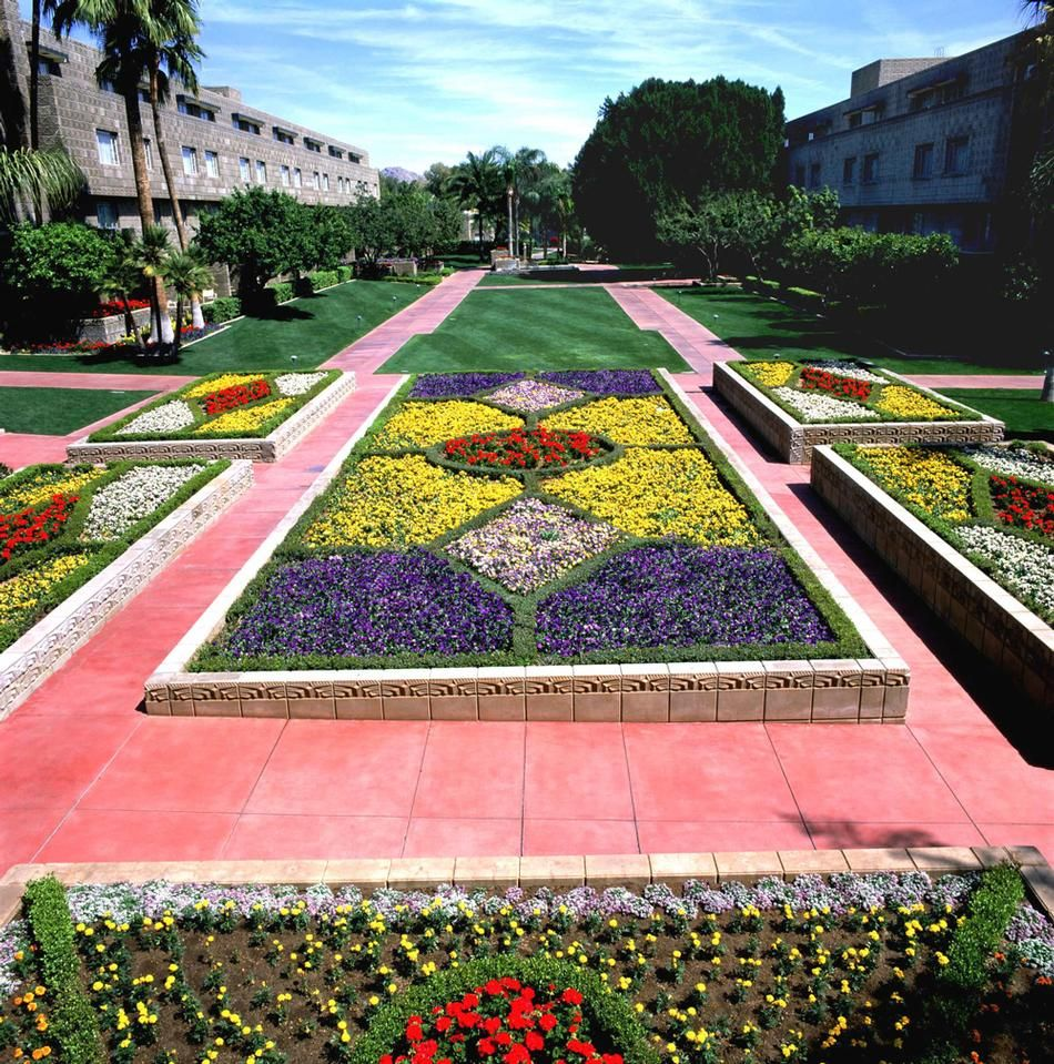 Arizona Biltmore Flower Gardens Tucson Sod Evergreen