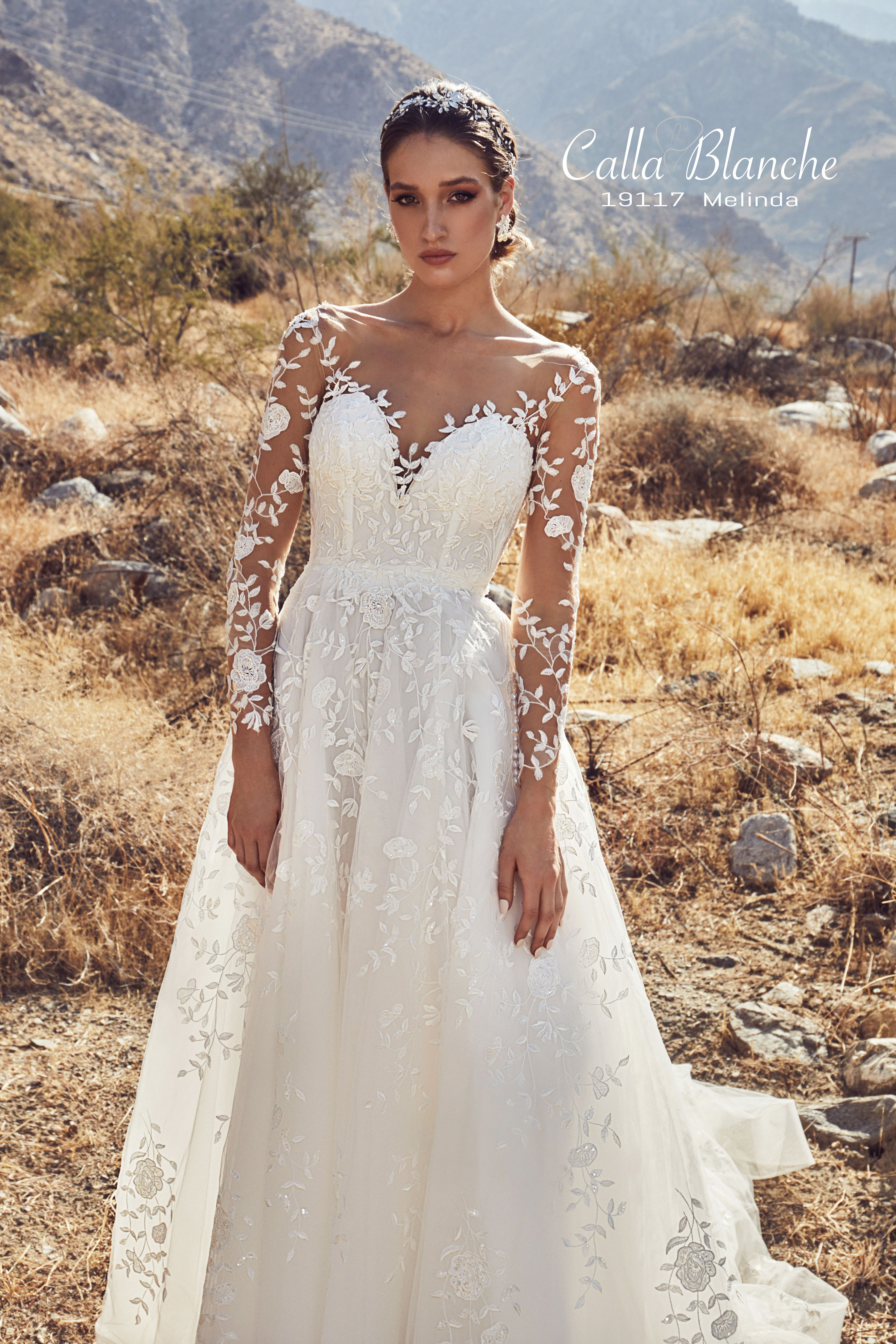 fa82fcde406 Calla Blanche Spring 2019 Collection Style  19117 Melinda Available Colors   Ivory Ivory with Skin Illusion