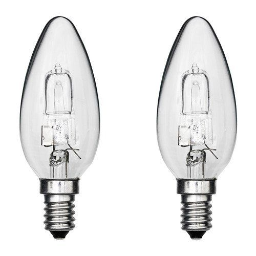 Ikea Halogen Bulb E14 Clear 2 Pack 28 W Ikea Http Www Amazon Co Uk Dp B00gpqrp1u Ref Cm Sw R Pi Dp Dv Mwb05ppqcs Halogen Bulbs Bulb Ikea