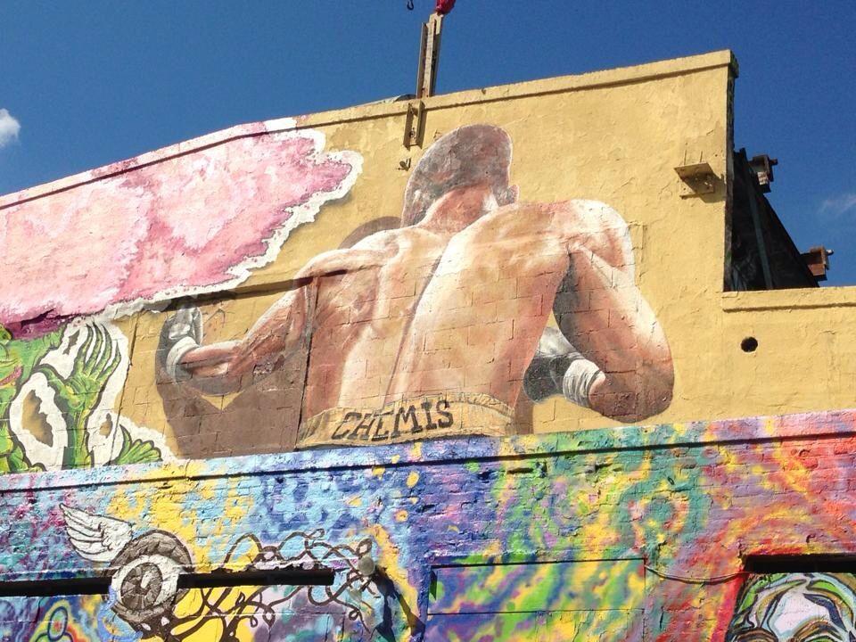 Street art Graffiti from 5pointz in Long Island City, NY