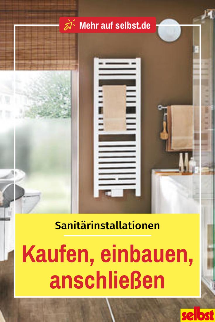 Sanitarinstallation Dusche Einbauen Bad Sanieren Und Durchlauferhitzer