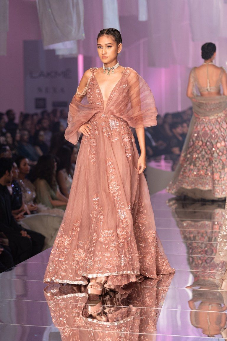 New Manish Malhotra 2019 Lakme Fashion Week Collection Frugal2fab Indian Wedding Gowns Designer Dresses Indian Top Wedding Dresses