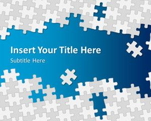 Puzzle Pieces Powerpoint Template Is A Free Puzzle Template