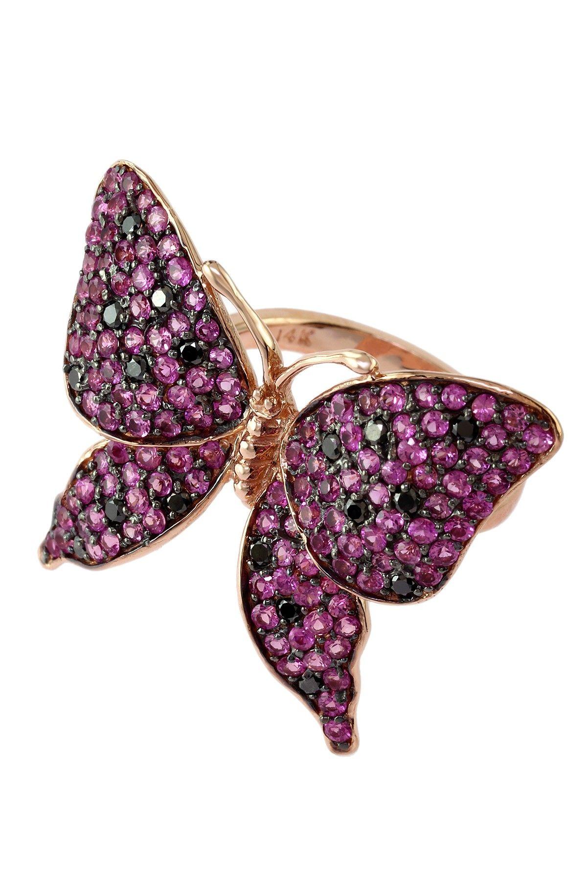 Jardin Butterfly Ring
