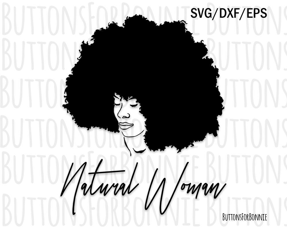 Afro Svg Black Lady Svg Natural Hair Svg Curly Hair Svg Etsy Natural Hair Styles Hair Clipart Cool Hairstyles