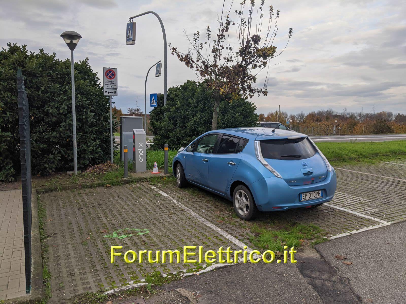 Colonnina Enel X 22 kW Soliera MO Via Modena Carpi 108 ...