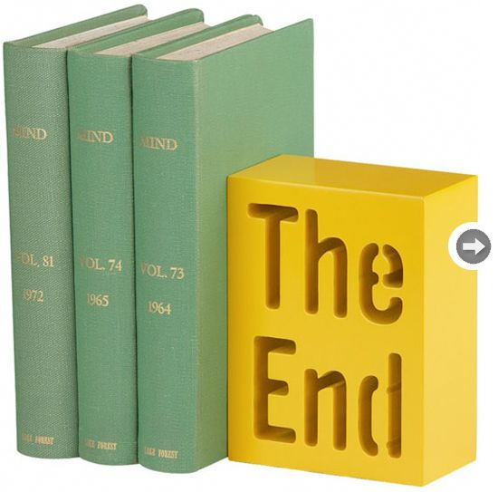 Keep your shelves organized and chic with these stylish bookends! --- styleathome.com