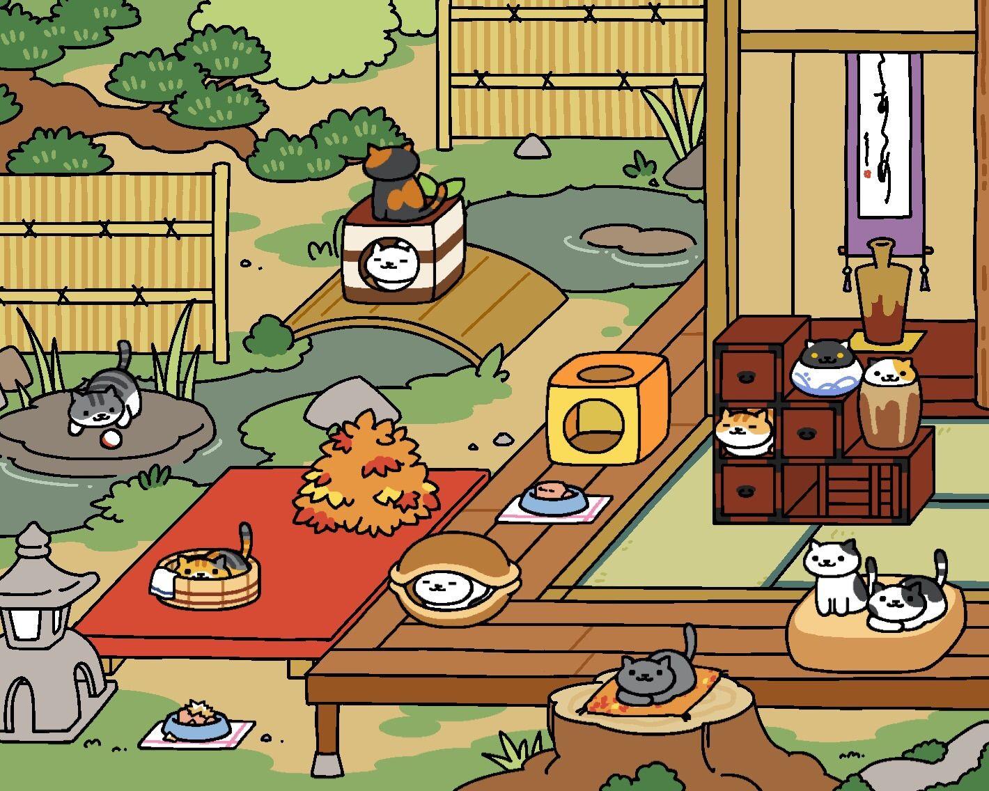 Neko Atsume walkthrough   Neko atsume kitty collector ...