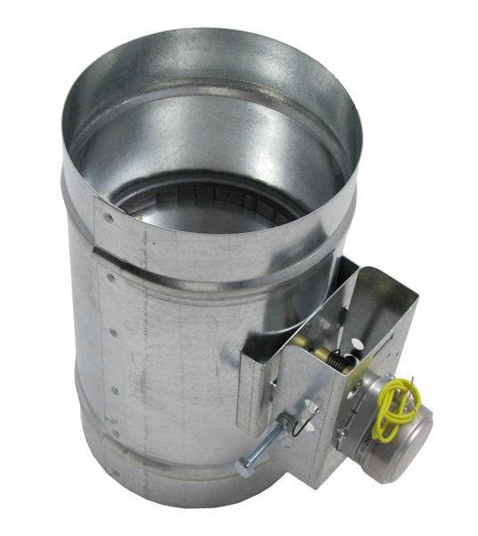 Motorized Dampers Hvac House Ventilation Galvanized Steel