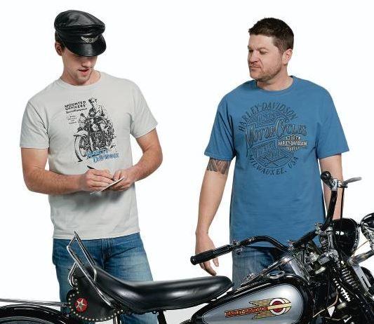 Harley Davidson Men/'s Black Dia Dlm Tee Shirt