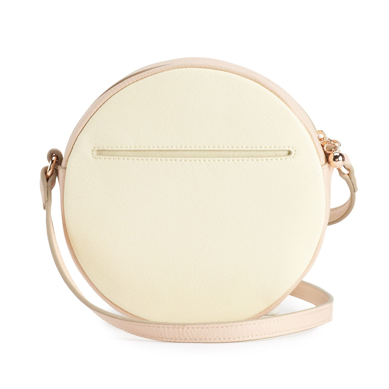 64821b693f146 LC Lauren Conrad Round Lemon Crossbody Handbag in 2019