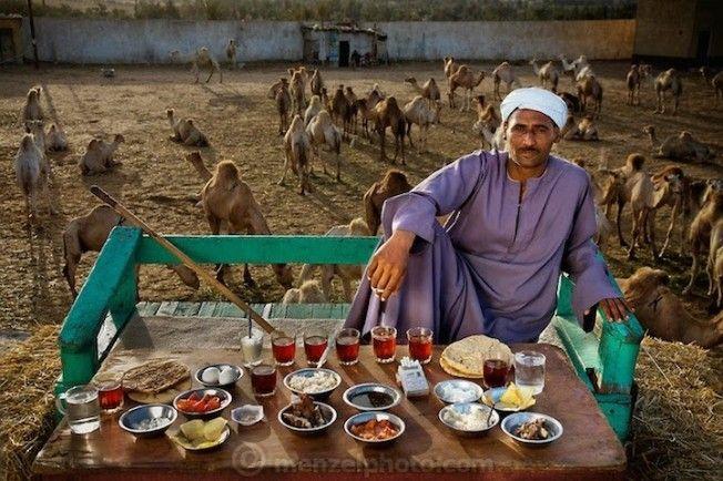 o que as pessoas comem ao redor do mundo