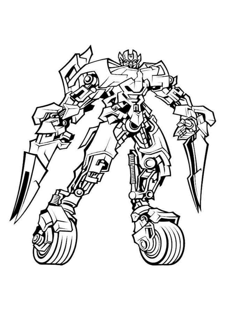 Transformers Coloring Pages Transformers Coloring Pages Ninjago