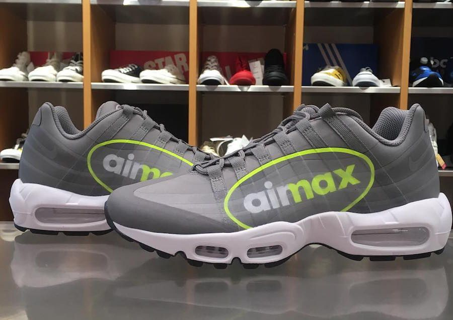 Our First Look At The Nike Air Max 95 NS GPX Volt | Nike air