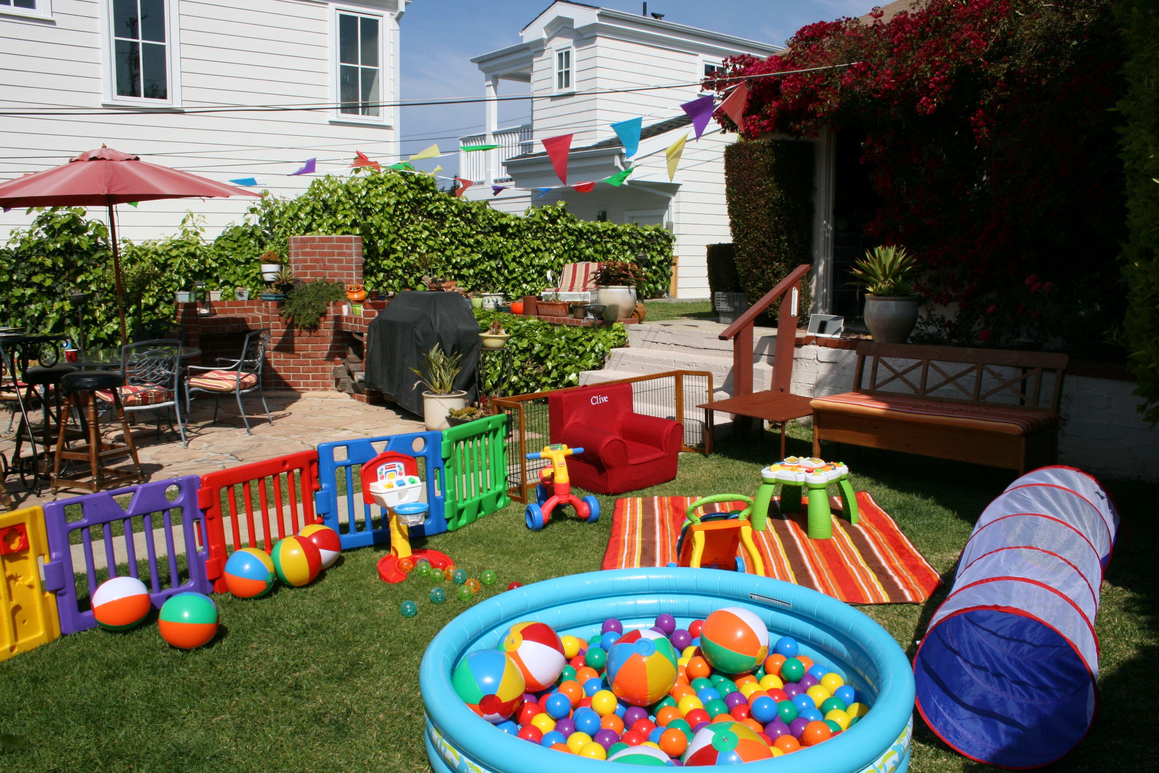 Ball Pit Setup Birthday Activities 1st Birthday Party Games Boy Birthday Parties