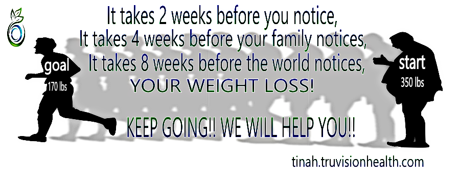 when do you notice a weight loss