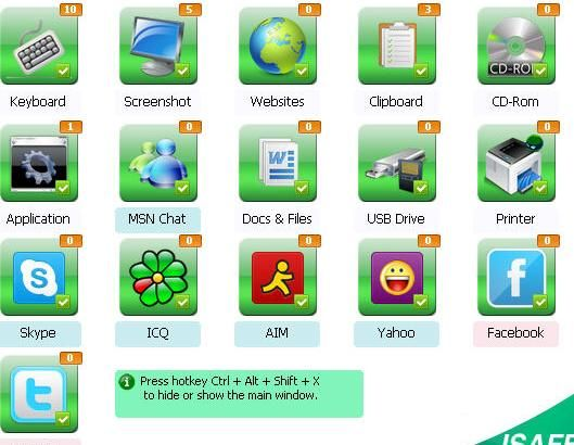 Isafe All In One Keylogger 3 5 8 Wit Serial Key All In One Software Wit