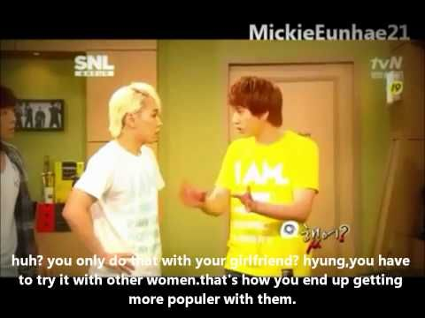 Super Junior's SNL:(ENG SUB) Part 8 - Did it? Skit- So funny