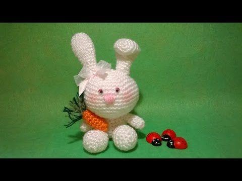 Tutorial Amigurumi Cerdito : Coniglietto uncinetto amigurumi tutorial rabbit bunny crochet