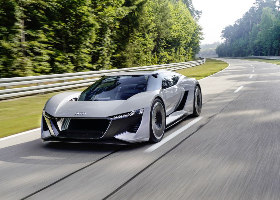 Audi S New Electric Sports Car Concept The Pb18 E Tron With