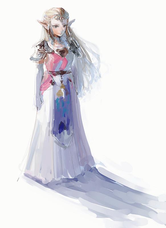 The Legend Of Zelda Ocarina Of Time Adult Princess Zelda