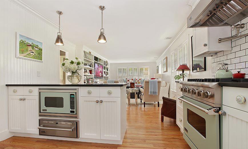 James Mcadam Design Country Kitchen The Hamptons East Hampton