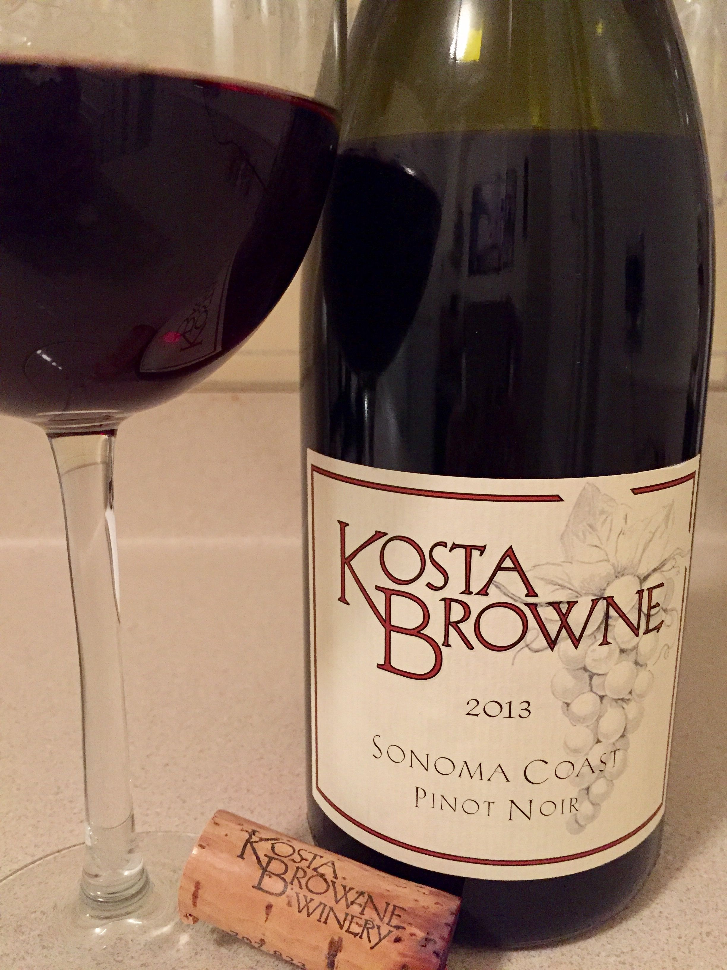 Kosta Browne 2013 Sonoma County Pinot Noir Personalized