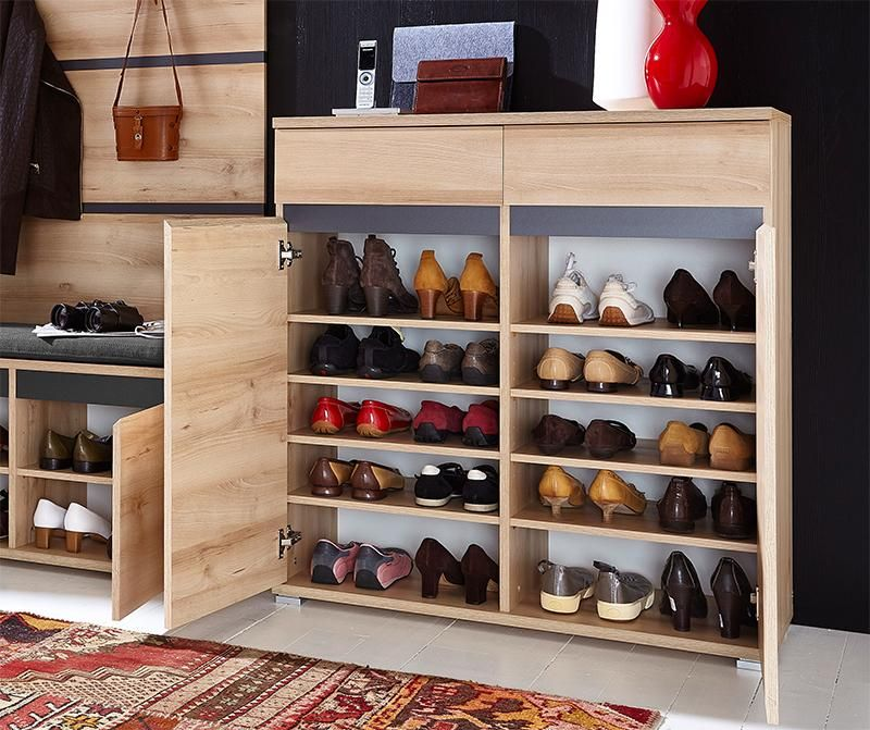 Germania Contemporary Lissabon Shoe Cabinet In Beech Wood Shoe Cabinet High Gloss Furniture Contemporary Furniture