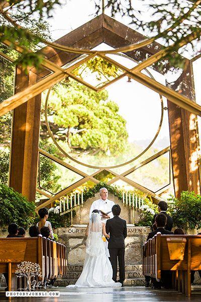 50 Unexpected Places To Tie The Knot Unique Wedding Venuesunique Weddingswayfarers Chapelreceptionreceptions