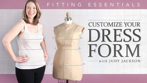 fabulous fit dress form padding for penelope   dress form and patterns
