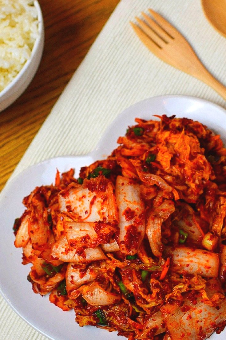 Kimchi korean superfood recipe korean side dishes steamed rice easy authentic kimchi the ultimate korean side dish perfect for kimchi stew forumfinder Image collections