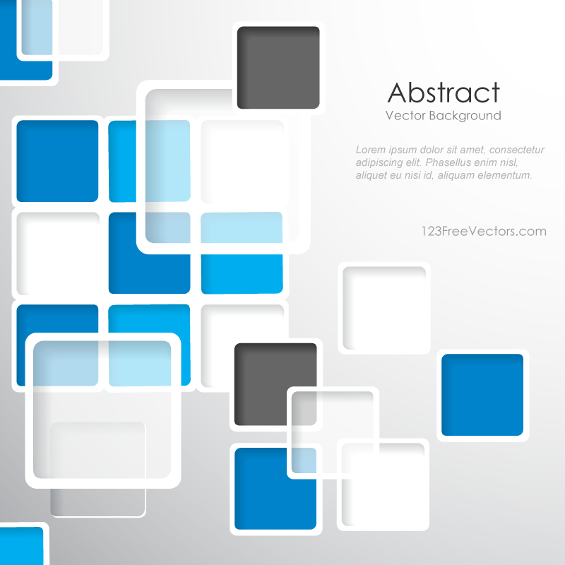modern abstract squares background design template geometric