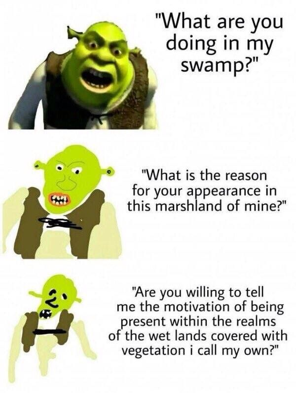 shrek appearance