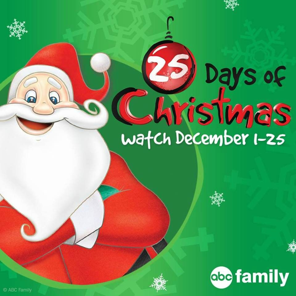 2015 ABC Family's 25 Days of Christmas Schedule – Air Times + Info on Shows!