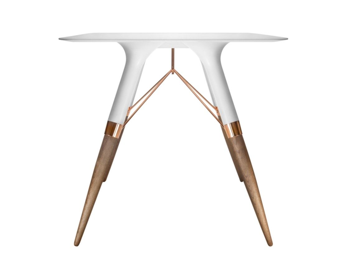 Square Corian® table T / MEDIUM Table T® Collection by dsignedby design Irena…