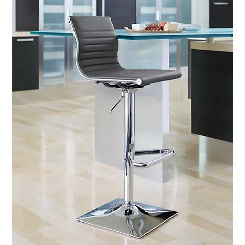 Beautiful Adjustable Height Bar to Counter Stool