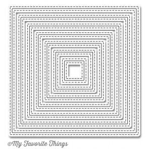 Die-namics Inside & Out Stitched Square STAX