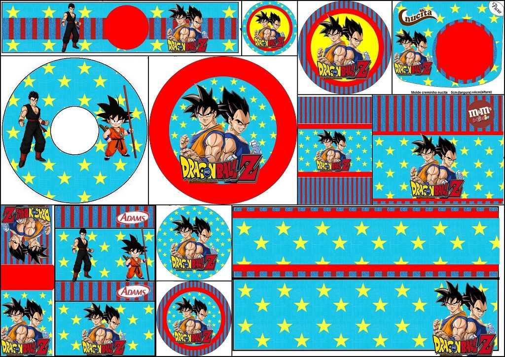 image about Dragon Ball Z Printable identify Dragon Ball Z: No cost Printable Sweet Bar Labels. dragon