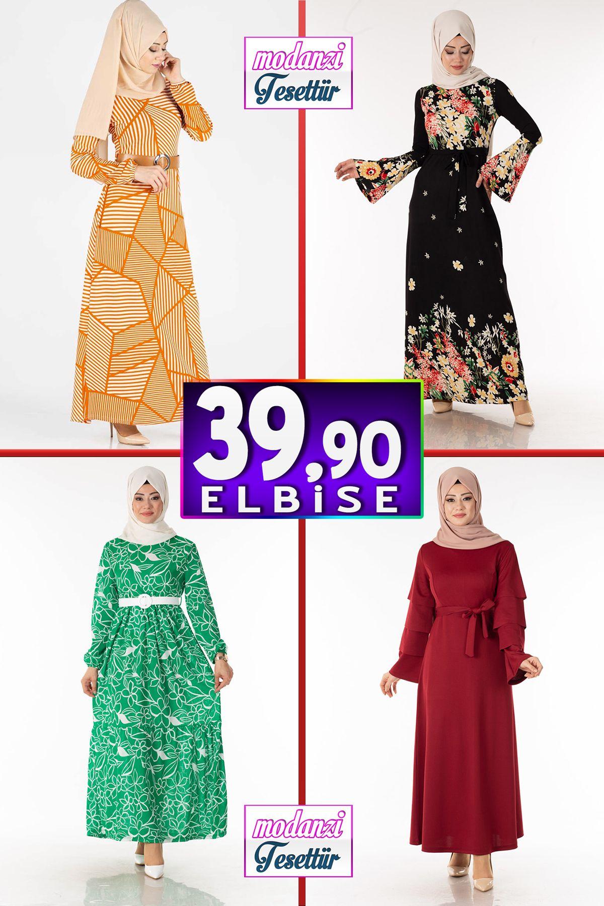 Tesettur Pazari 39 90 Tl Elbise Modelleri 4 Kampanya Indirim Tesettur Elbise Modelleri 2020 Elbise Moda Stilleri Elbise Modelleri