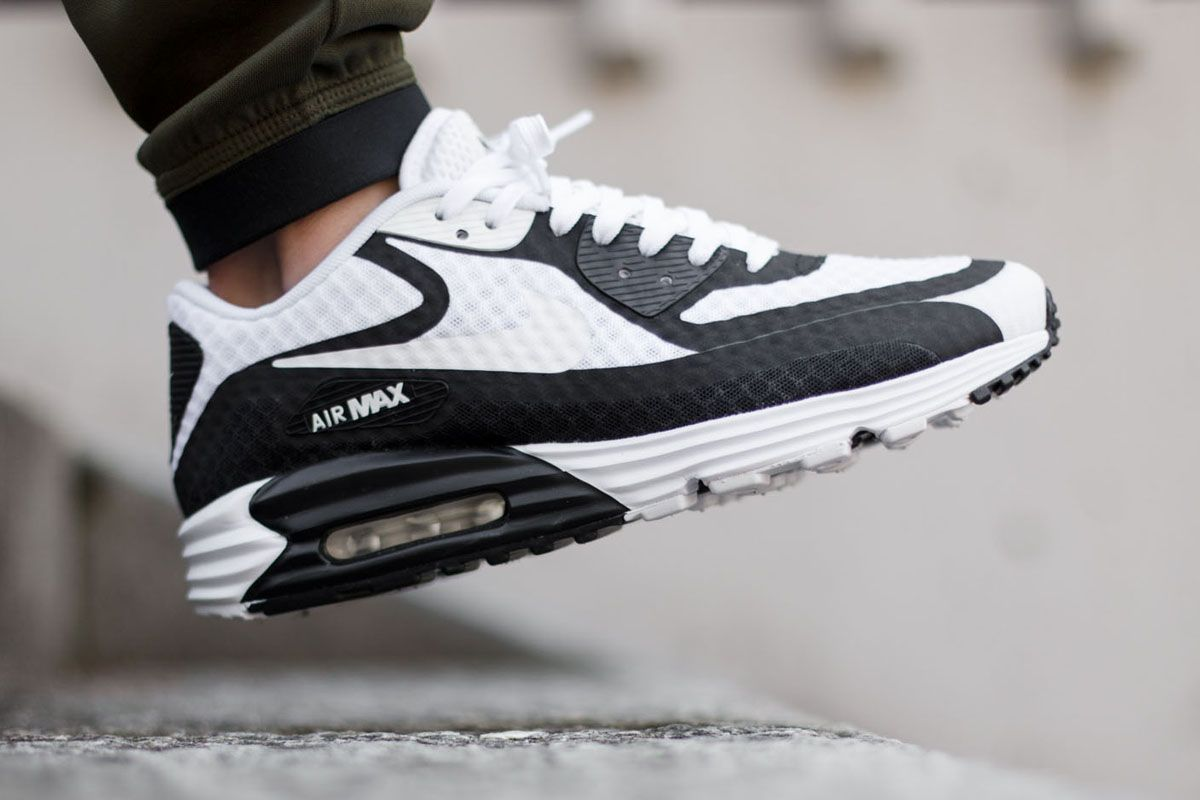 Dig Air White I amp; Kicks Black Nike Max Breeze Lunar90 SRpqwp