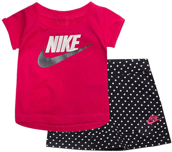 2dd047445 Nike Baby Sets 2-pc. Short Set Baby Girls #babygirl, #nike, #promotion