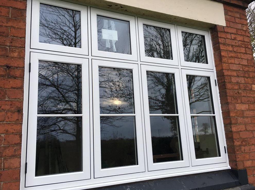 Grained White Residence 9 window by Matthews & Peart Ltd ...
