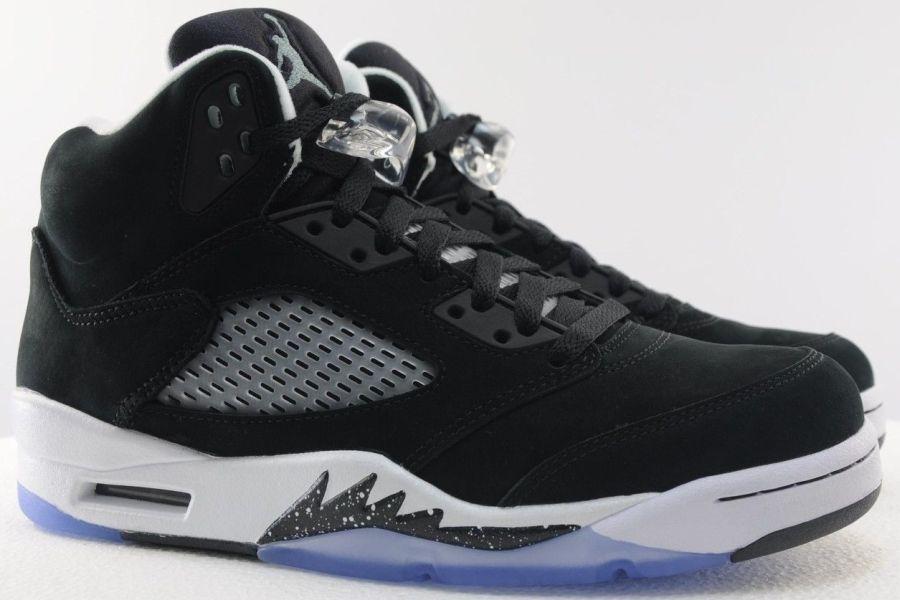6d8aa943979f02 air jordan 5 black cool grey 02 Air Jordan 5 Black Cool Grey White Nike Air