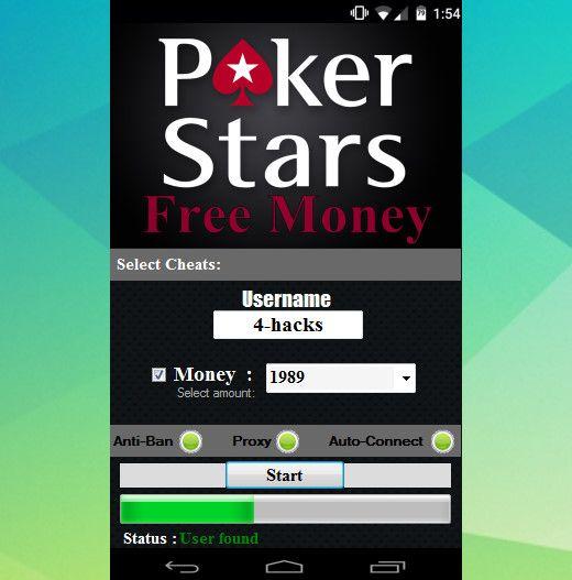 POKERSTARS HACK APK Hack with App Póker