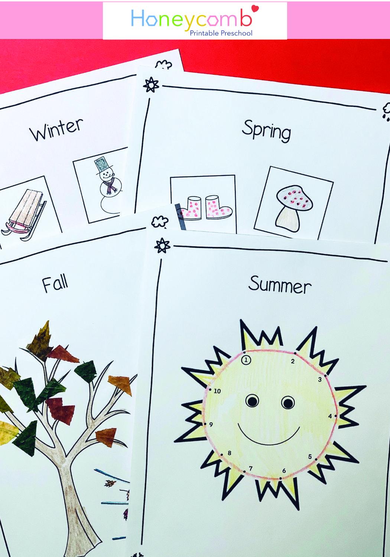 Preschool Daily Calendar Weather Amp Seasons In