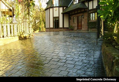 What Types Of Finishes Are Available Refer To How Thick Should A Concrete Driveway Be Exposed Aggregate Driveway Concrete Concrete Driveways