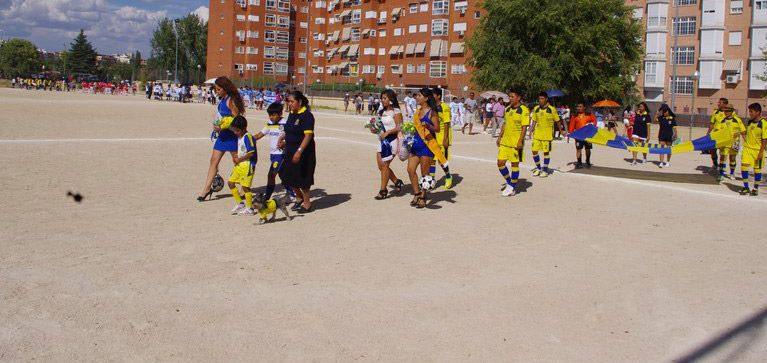 4º Campeonato de Fútbol de la Asociación Llano Grande en Madrid