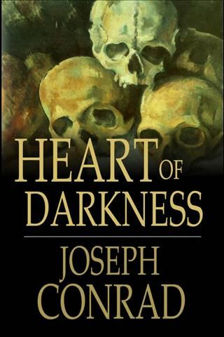 Heard of Darkness (1902) by Joseph Conrad who wrote, with metaphorically anticipation, about the great journey that the human race must embark upon in his famous novel about an adventure up the Congo River into 'the heart of darkness'.